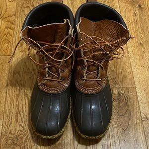 Men's LL Bean Duck Boots